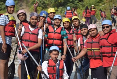 Rafting Journey Rishikesh